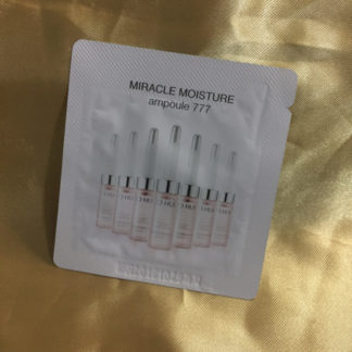miracle moisture ampoule 777 sample