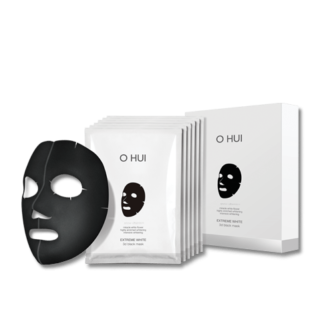 Extreme White 3D Black Mask