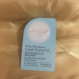 Laneige White Plus Renew Capsule Sleeping Pack 3ml