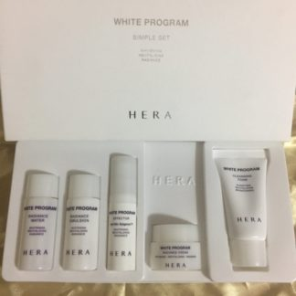 HERA White Program Simple Set (5pics)