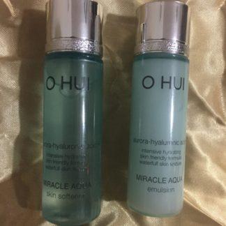 O HUI Miracle Aqua Skin Softener & Emulsion (20ml+20ml)