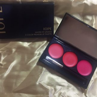 IOPE Water Fit Lipstick 3 Color Premium Lip Palette