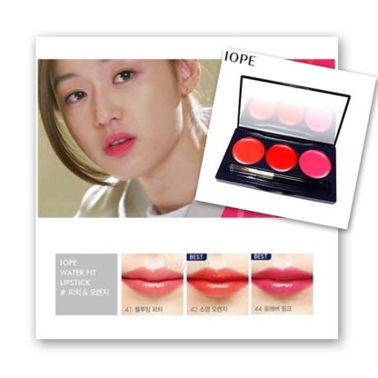 IOPE Water Fit Lipstick 3 Color Promotion Advertisement